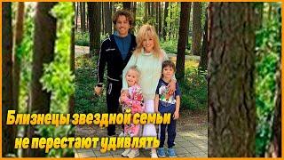 Дети  Галкина научили папу новым упражнениям, даже Киркоров оценил