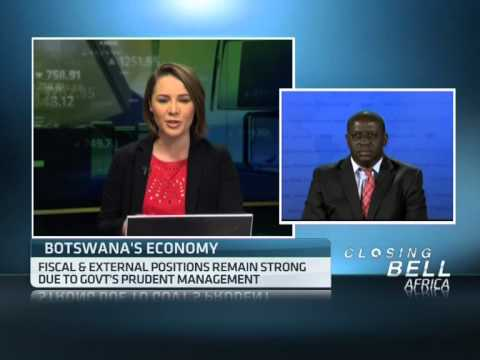 Botswana real GDP slowed down to 4% in 2012