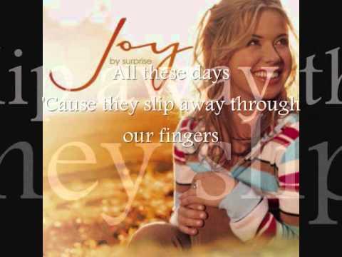 Every Moment -- Joy Williams (Lyrics)