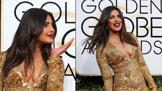 Watch | Priyanka Chopra glitters at the Golden Globes