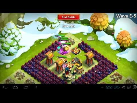 #015 HBM E Without Garrison And Troops - Castle Clash