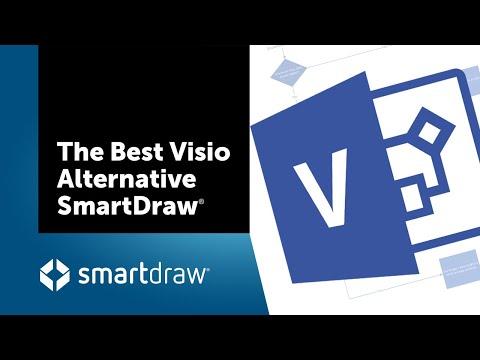 The Best Visio Alternative: SmartDraw