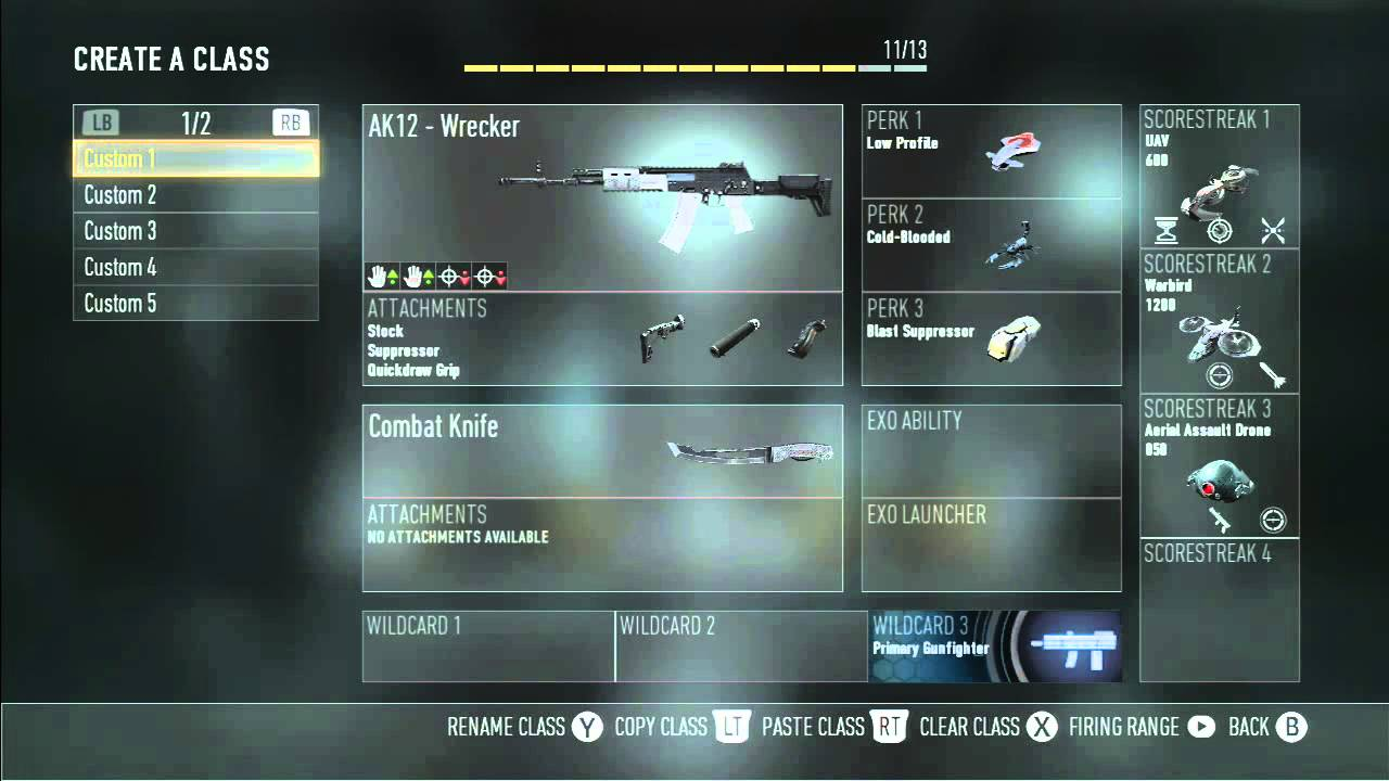CoD:AW Best Class Setup for DAY 0! - YouTube