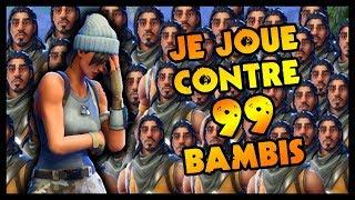 🔴 JE JOUE CONTRE 99 BAMBIS (Fortnite Nintendo Switch)