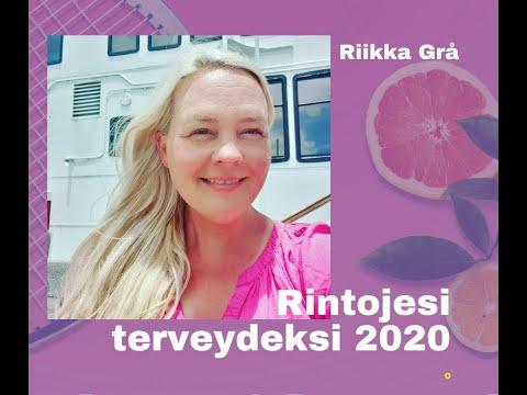 """Rintojesi terveydeksi 2020: """"Mitä jos en pelkäisi"""" - Riikka Grå"""