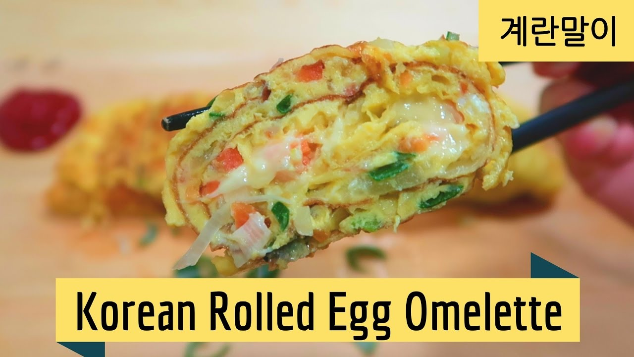how to make rolled eggs