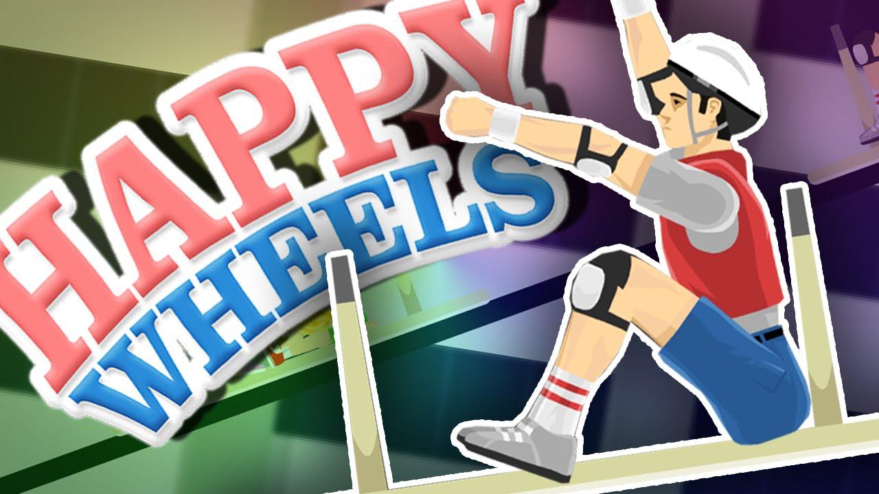 how to make happy wheels work