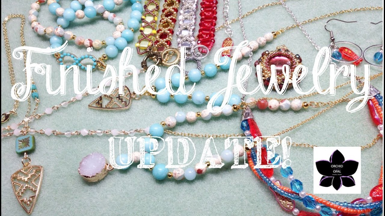 Download Finished Jewelry Update | Beading Project Share 2-July 2018