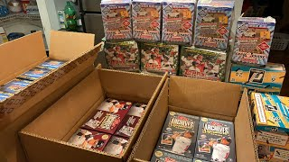 HUGE CASE BREAK!  2018 TOPPS ARCHIVES SIGNATURE SERIES ACTIVE AND RETIRED PLAYER EDITIONS AND MORE!