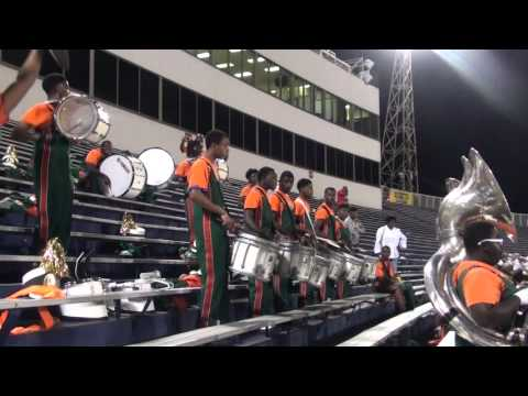 Leflore Band tells Michael Standifer to let blount band play after their song.