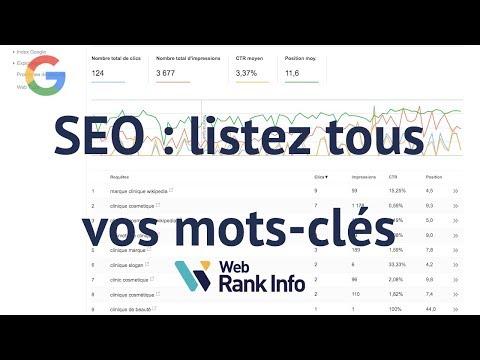 Comment trouver tous les mots-clés de vos pages dans Google (SEO)