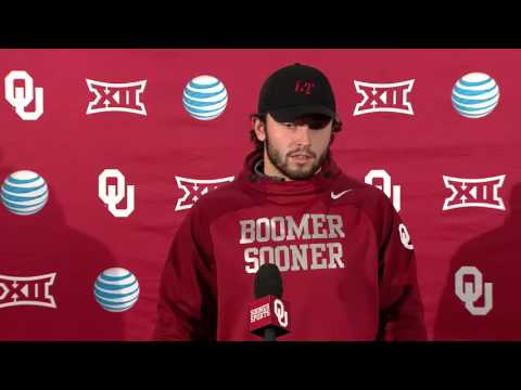 OU Football: Baker Mayfield press conference