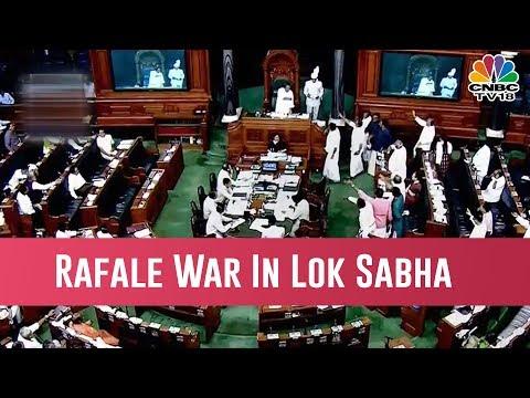 Fireworks in Parliament As Rahul Gandhi & Arun Jaitley Spar Over The Rafale Deal
