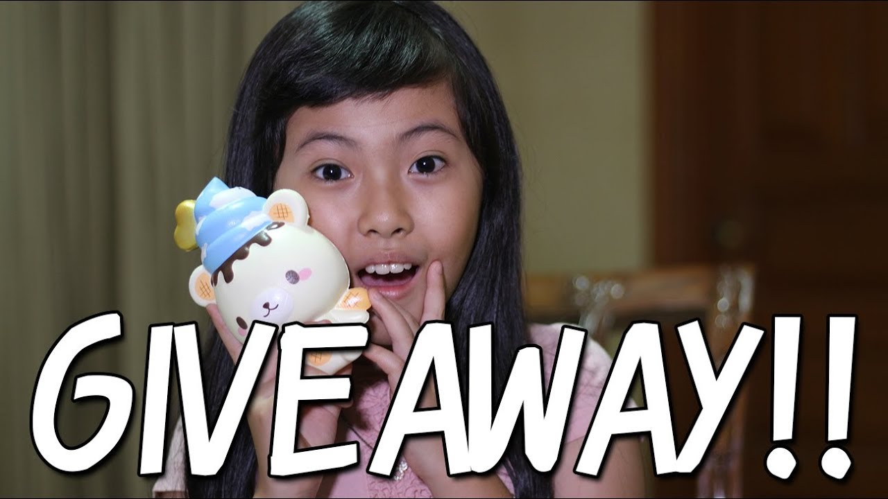 Squishy Giveaways : #4 [REVIEW] SQUISHY + GIVEAWAY!! - YouTube