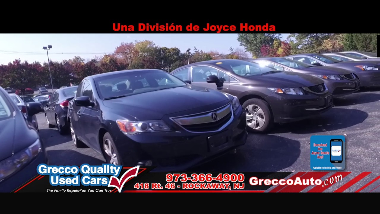 Grecco Quality Used Cars   December. Joyce Honda