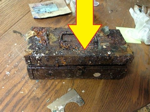 A Hidden Safe Revealed Treasures When It Was Finally Cracked Open