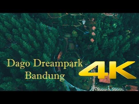 Panorama Dago Dreampark Bandung [4K Aerial Video]