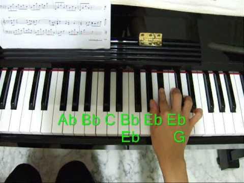 Piano Tutorial Kiss The Rain Right Hand Part 1 Youtube