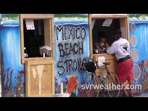 Mexico Beach, Florida recovery 4 months after Hurricane Michael