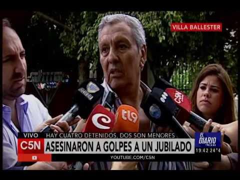 C5N - El Diario: Asesinaron a golpes a un jubilado