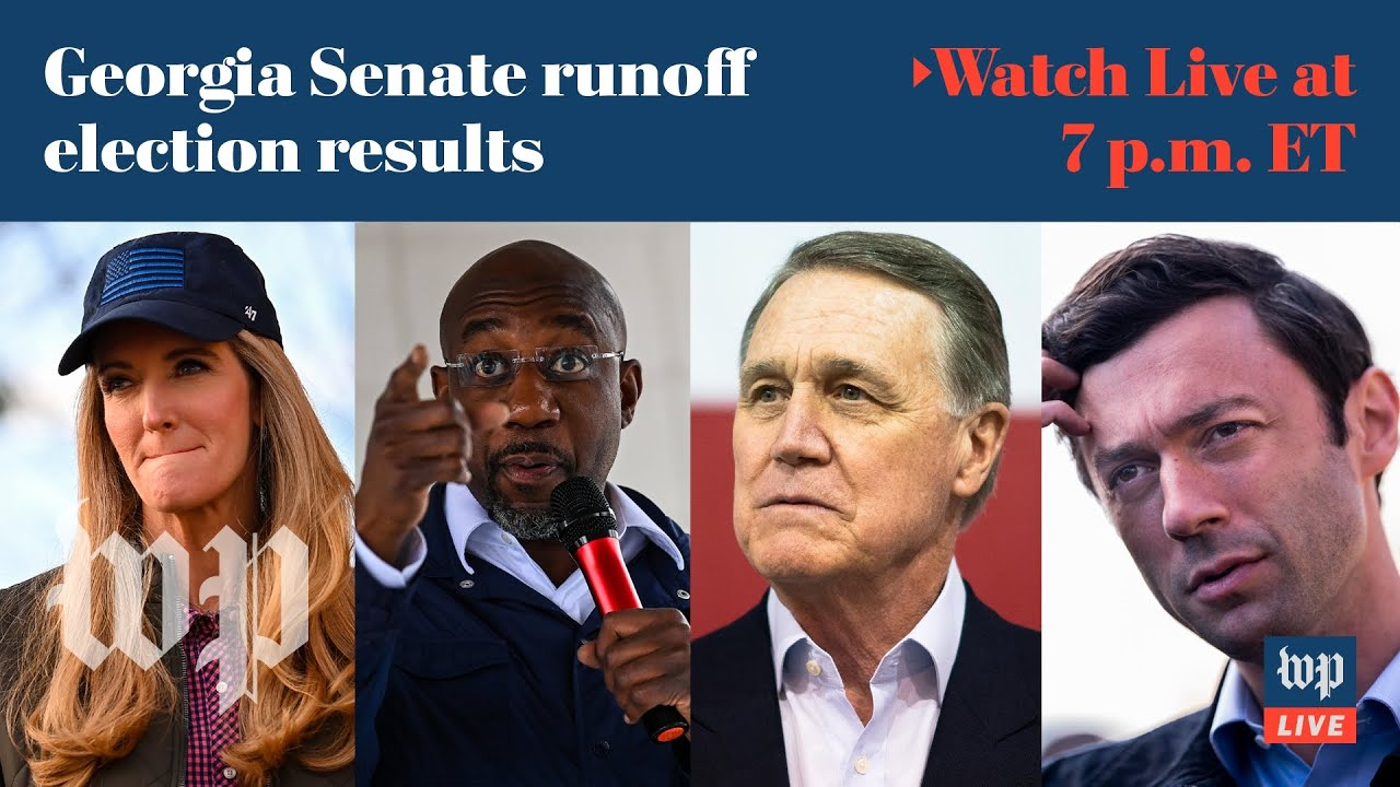 Analysis and results from Georgia Senate runoff elections - 1/5 (FULL LIVE STREAM)