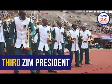 WATCH: Stage set for presidential inauguration of Emmerson Mnangagwa