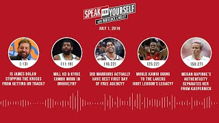 SPEAK FOR YOURSELF Audio Podcast (7.1.19) with Marcellus Wiley, Jason Whitlock | SPEAK FOR YOURSELF