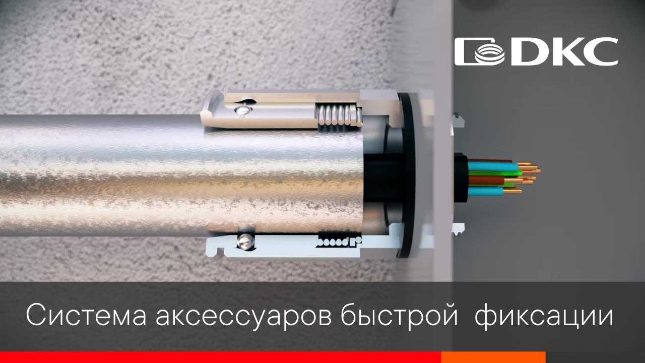 """Универсальные аксессуары быстрой фиксации для металлических труб """"Cosmec"""""""