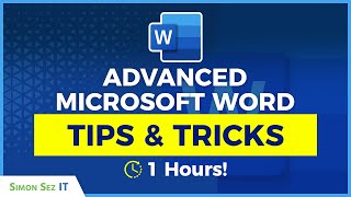Advanced MS Word Tutorial: (Contents Pages, Page Breaks, Sections) - Microsoft Word Tips and Tricks
