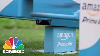 Repeat youtube video Amazon Prime Air To Provide Drone Delivery | Tech Bet | CNBC