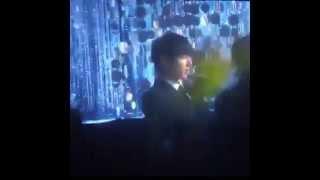 BTS Jungkook singing along iKON's Rhythm Ta  @ MelOn Music Awards
