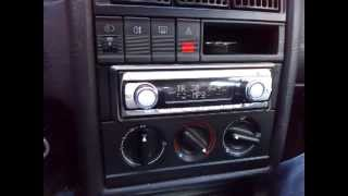 Audi 80 B4 audio Hifonics Titan Txi-1700d + Pioneer TS-W306C
