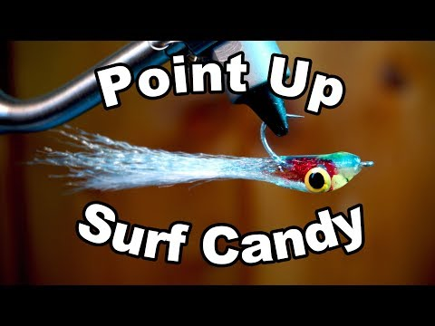Point Up Bleeding Surf Candy - Underwater Footage - McFly Angler Fly Tying Tutorial