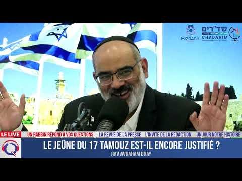 Le jeûne du 17 Tamouz est-il encore justifié ? - Un rabbin répond à vos questions#29