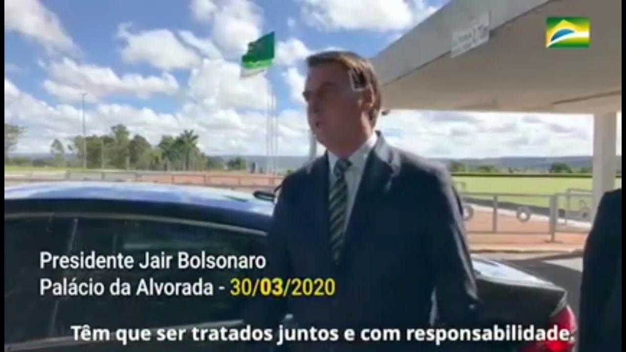 Jair Bolsonaro - Tudo o que falei em março se confirma agora em novembro (Covid-19).