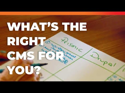 How to choose the right CMS for your Website!?