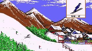 The Winter Games! (1985) Epyx, C64S EmuĮator PC/DOS