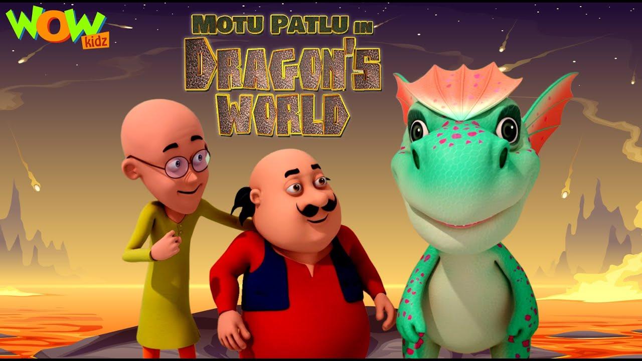 Download MOTU PATLU In Dragon World   Full Movie   Wow Kidz