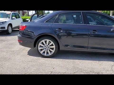 2017 Audi A4 Orlando, Sanford, Kissimme, Clermont, Winter Park, FL 4405A