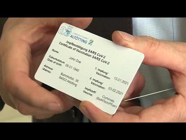 Entusiasmo y reticencias respecto al pasaporte de vacunación en Europa    Euronews