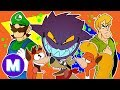 🎵MASHED REMIX: ULTIMATE CARTOON INTRO SONGS 🎵