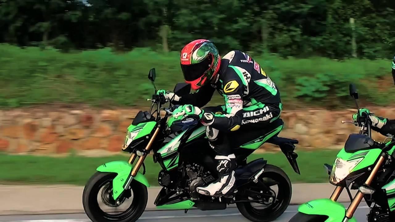 Kawasaki Z125 Krt Edition Teaser Youtube