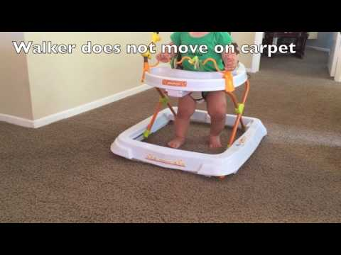 Baby Walker for Carpet: A baby walker that can roll on carpet