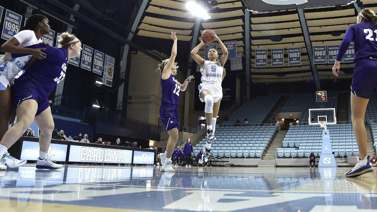 Video: UNC women's basketball comes from 21 down to beat High Point by 25 - Highlights
