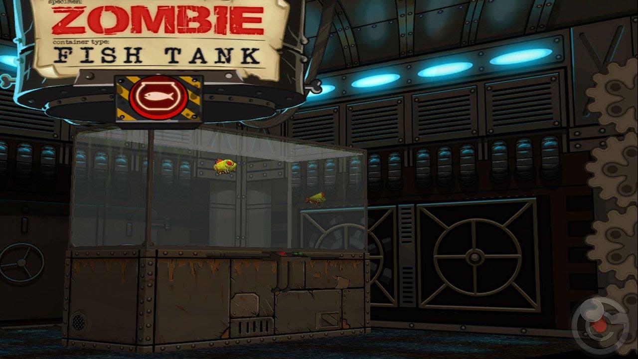 Zombie Fish Tank - iPhone & iPad Gameplay Video - YouTube