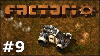 Factorio #9 - Motoryzacja!