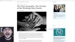 Working Class Families Are Collapsing, Young Men Poor And Unmarried