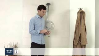 Instalace termostatické sprchové baterie
