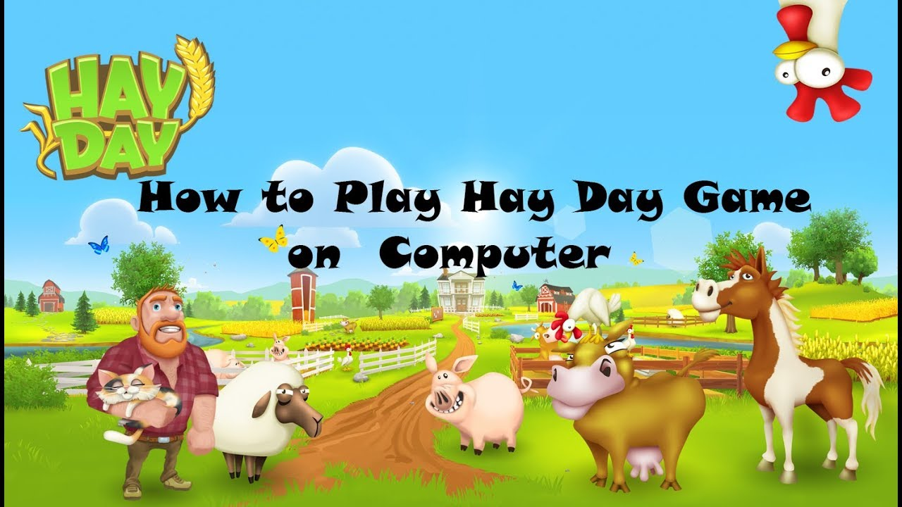 How To Play Hay Day On Pc Youtube