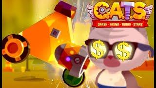 I LOVE GOOOOOOLD   CATS: Crash Arena Turbo Stars (PART 10)   Gameplay, Stage 15